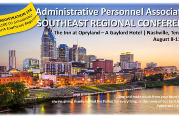 APA Southeast Regional Conference Coming August 8-11th