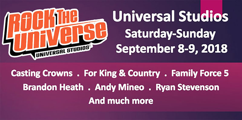 2018 PTF Rock the Universe | 9/8-9