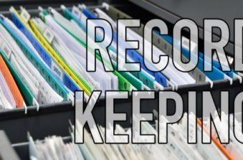 RECORDING KEEPING | Volunteer Applications & Background Checks