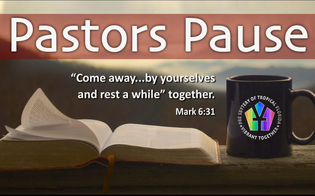 Pastors Pause – Coming March 23