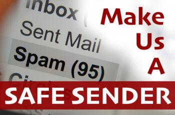 Make Us a Safe Sender