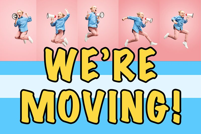 PTF is Moving Location